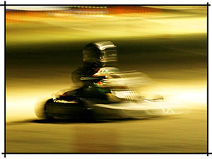 night karting