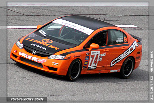 No.74 HPD/Skunk 2 Honda Civic - Compass360 Racing