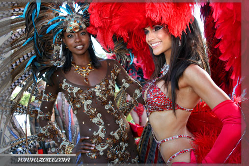 Miss Universe 1998, Wendy Fitzwilliam & Miss T&T World 2008, Gabrielle Walcott