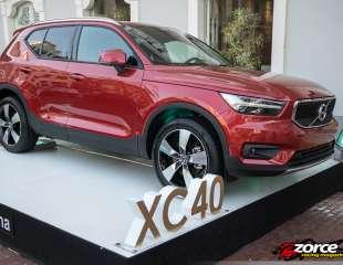 Volvo launches new XC40 premium compact SUV in Panama!