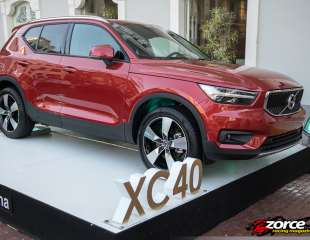 Volvo launches new XC40 premium compact SUV in Panama!