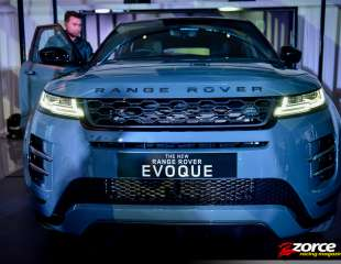 Newest Range Rover Evoque says hello with Velarian restyle