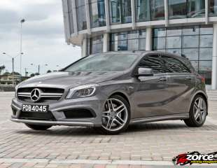 WRC for the Road: Mercedes-Benz A 45 AMG