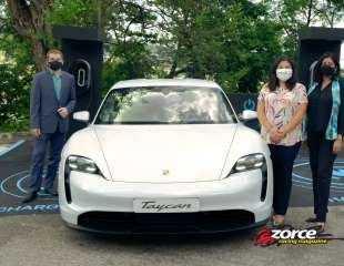 First Porsche Destination Charger Available in Trinidad and Tobago