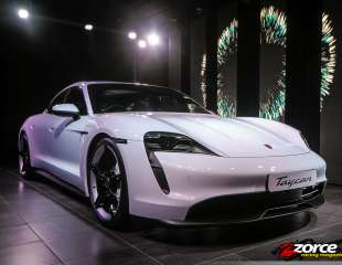 Driving into the future: The new Porsche Taycan arrives in Trinidad and Tobago